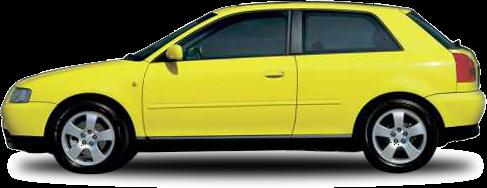 אודי A3 1997-2002   1.6L   ידני 3 דל' Attracion